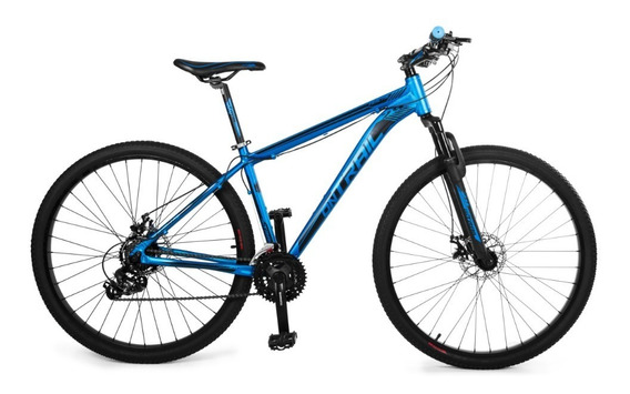 Bicicleta Ontrail Fractal 29 Aluminio Disco 21vel. Shimano