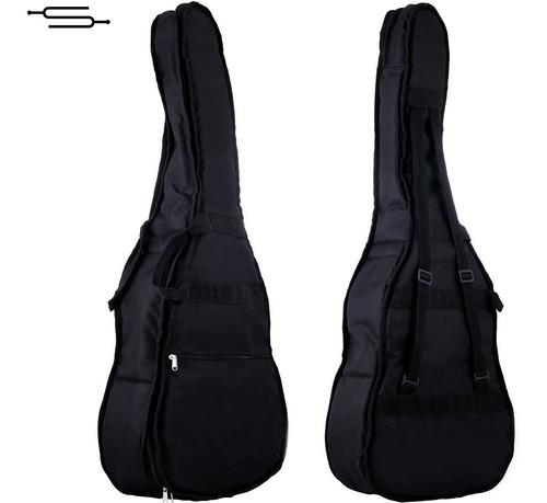 Imagen 1 de 6 de Funda Guitarra Criolla Acolchada Impermeable Doble Correa S