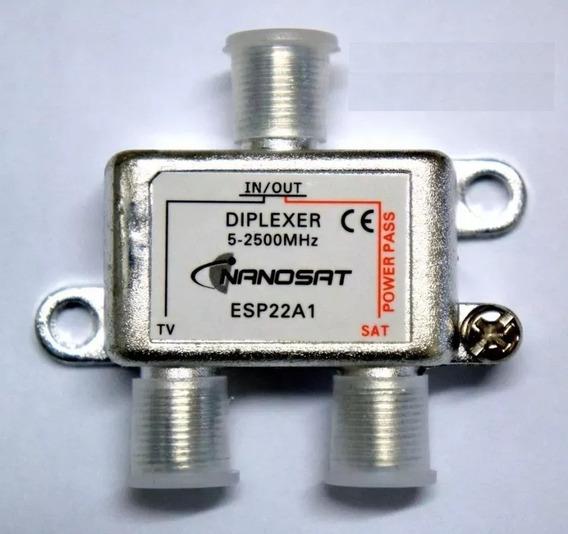 Promoção 10 Chave Diplexer Nanosat / Telesystem 2x1 (tv-sat)