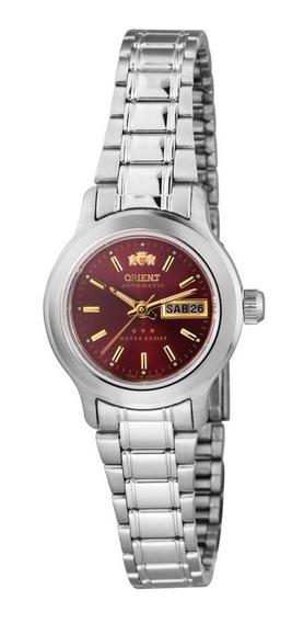 Relógio Orient Automático Feminino Vinho 559wa6x W1sx