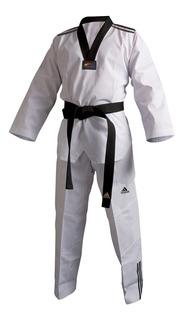 Dobok Kimono adidas Taekwondo Adiclub 3s Gola Preta 2019