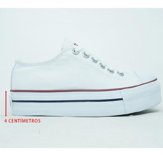 Tênis Converse All Star Plataforma - Branco