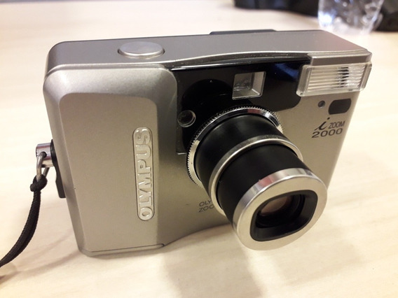 Câmera Fotográfica Olympus Izoom 2000 25 A 50 Mm Funcionando