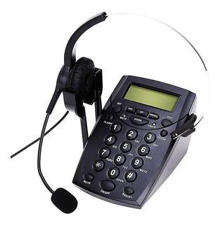 Teléfono Manos Libres Cabezal Para Operador Apto Grabación