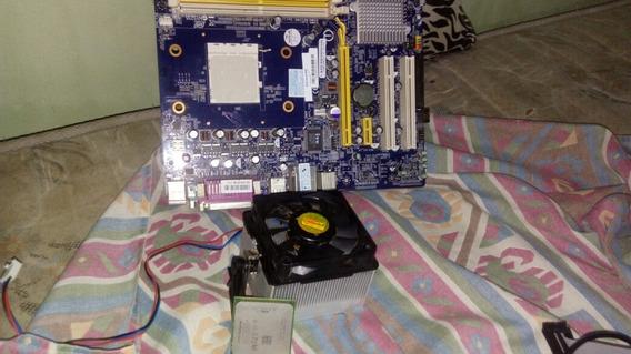 Placa Mãe Atx(com A Opção De Compra Do Processador+cooler)