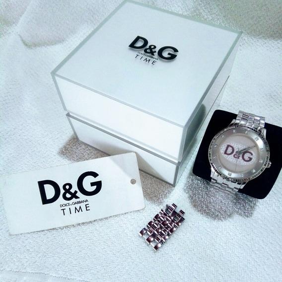 Relógio Unissex Dolce & Gabbana Dw0144- A Prova D`água.