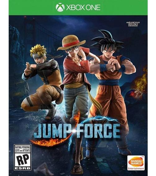 Jump Force Xbox One Mídia Física Novo Lacrado Luta