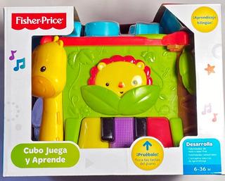 Juguete Fisher Price Cubo Juega Aprende Figuras Didactico