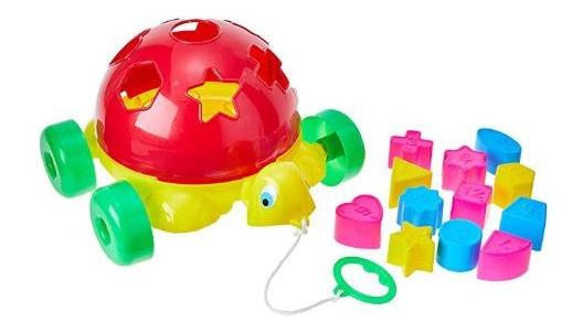 Brinquedo Tartaruga Didática Turtle Didactive Educativo Bab
