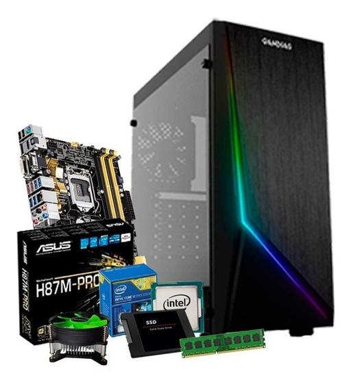 Computador I7 4770, Placa Mãe Asus H87, 8gb, Ssd 240gb + Nfe