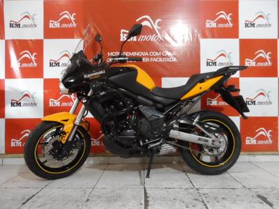 Kawasaki Versys 650 2012 Amarela