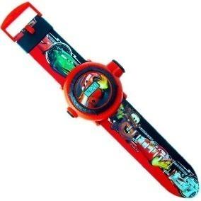 Relógio Infantil Disney Relâmpago Macqueen Projetor Imagem