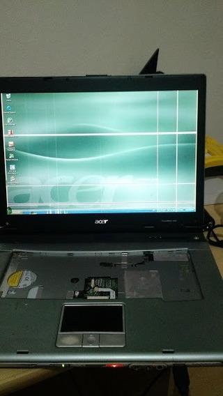 Notebook Acer Travelmate 4060 Antigo Pentium Funcionando