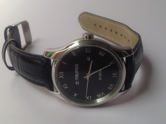 Reloj De Vestir Truper 50 Aniversario Cuarzo Fechador