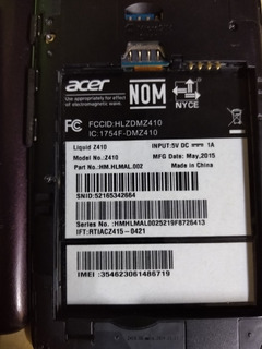 Celular Acer