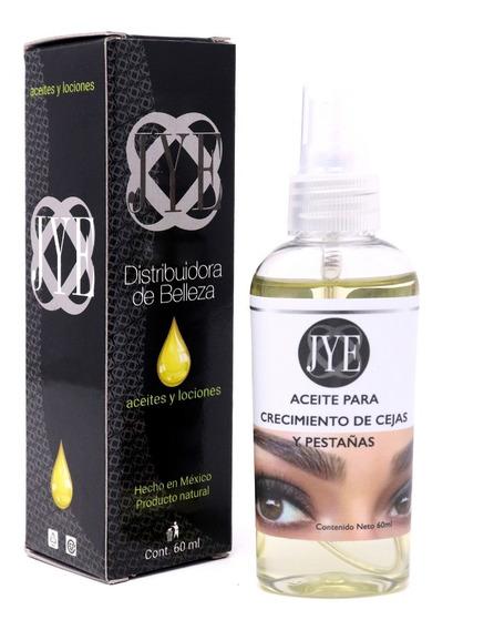Aceite Jye Crecimiento Cejas Y Pestañas Natural Y Efectivo