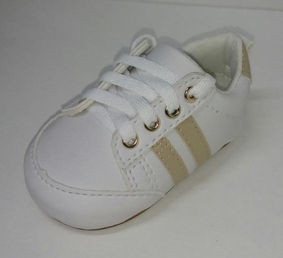 Sapato/tenis De Bebê Menina Fácil De Calçar E Confortável