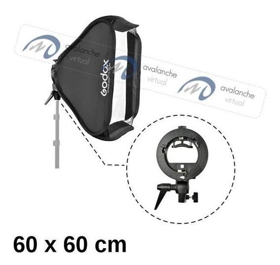Softbox Flash Dedicado 60x60 60 X 60cm Speedlite Dobravel
