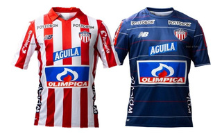 Camiseta Junior De Barranquilla Titu Y Supl Nb