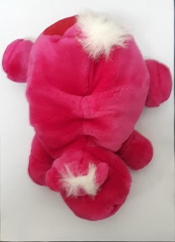 Hipopótamo De Pelúcia Pink-