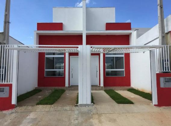 Casa Nova Sorocaba 2 Quartos Garagem Estudo Troca