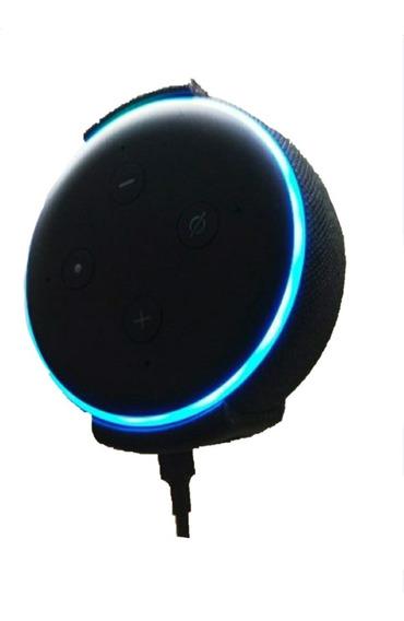 Suporte Parede Ou Teto - Amazon Alexa Echo Dot V3 + Parafuso