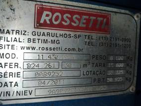 Carreta Rossetti 2013 S/pneus 68.000
