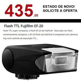 Flash Fujifilm Ef-20 Ef 20 - Sem Uso. Impecável!