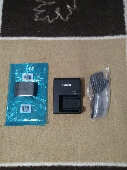 2 Kits Novos Canon Bateria Original +carregador Frete Gratis