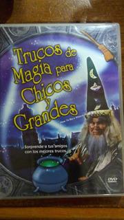 Trucos De Magia Para Chicos Y Grandes Dvd Nacional