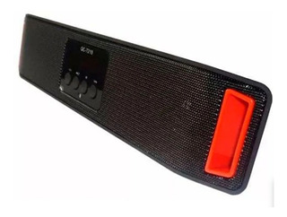 Parlante Bluetooth Bq-7210 Radio Fm Aux In Usb Sd Bateria