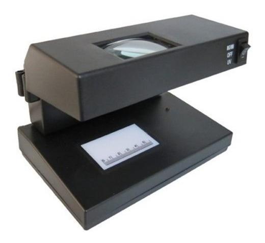 Detector Compacto Billete Dinero Falso Lupa Obi 239206