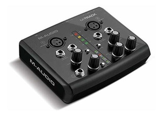 Placa Audio M-audio M-track | Two Canales Portable Usb Aud ®