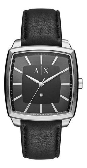Relógio Armani Exchange Masculino Nico Square - Ax2362/0pn