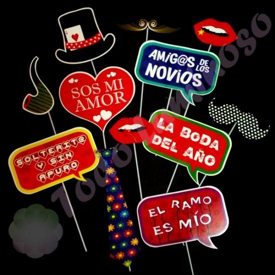 Prop Casamiento Boda, Cartelitos, Photobook