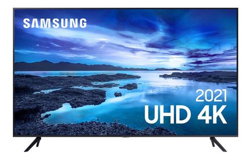 Imagem 1 de 7 de Smart Tv Samsung 65 4k Hdr Processador Crystal 65au7700