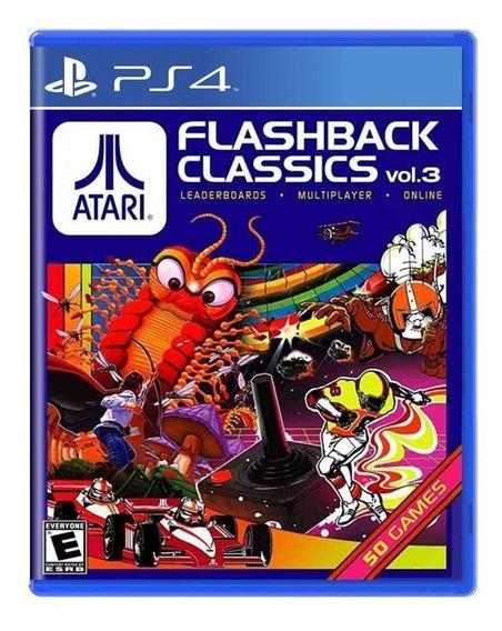 Atari Flashback Classics Vol 3 Ps4 Mídia Física Novo Lacrado