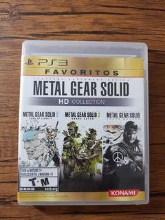Metal Gear Solid Hd Colection Playstation 3 Ps3 Buen Estado