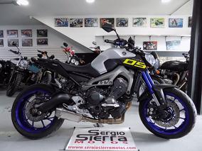 Yamaha Mt09 Gris 2015