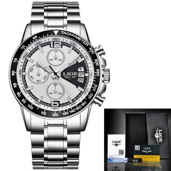 Relógio Masculino Lige 0002 Original