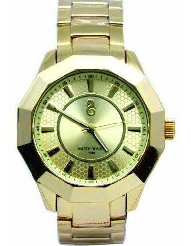 Relógio Dourado Masculino G-3111 Atlantis Original Lançament
