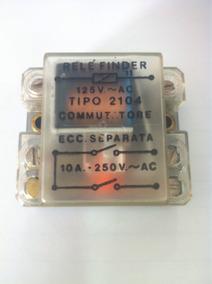 Rele Finder Tipo 2101 125v Ac 2contatos Sdm