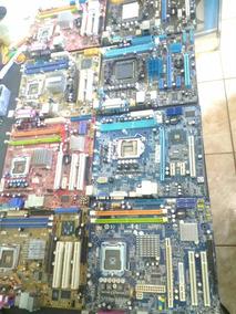 Kit Com 9 Placa Mãe De Computador Com Defeito