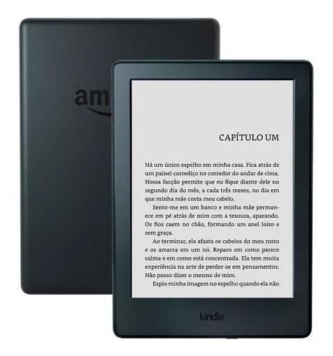Kindle 8ª Geração Amazon Tela 6 4gb Wi-fi - Preto