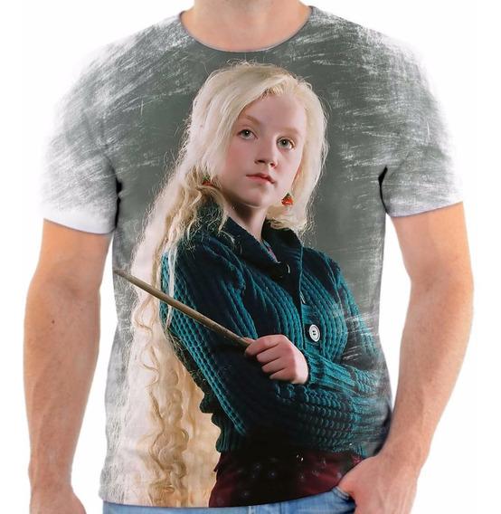 Camisa Camiseta Personalizada Harry Potter Luna Lovegood 1