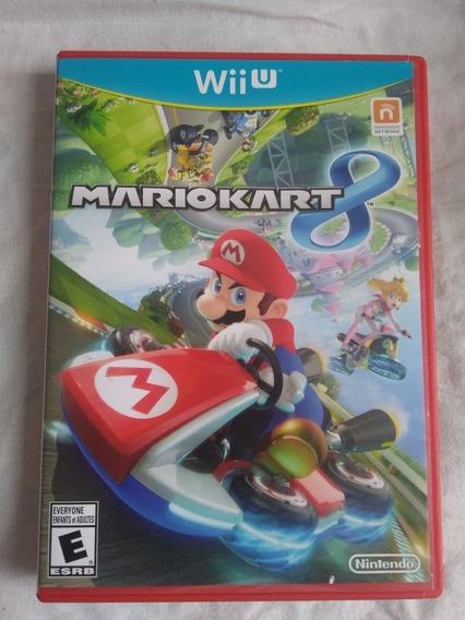 Mario Kart 8 Nintendo Wii U Jogo Game Original Corrida Disco