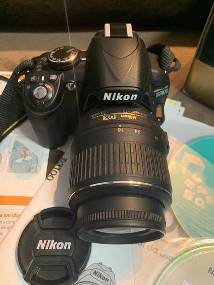 Câmera Nikon Estado De Novo D3500 Na Caixa, Manuais.