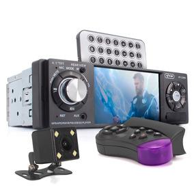 Som Radio Automotivo Mp5 Bluetooth Carro Knup Câmera De Ré
