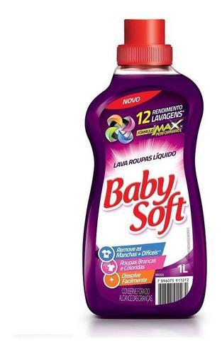 Lava Roupas Liquido Baby Soft Max Performance - Lilas 1l