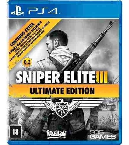 Sniper Elite 3 Ultimate Edition Ps4 Iii Midia Fisica Pt